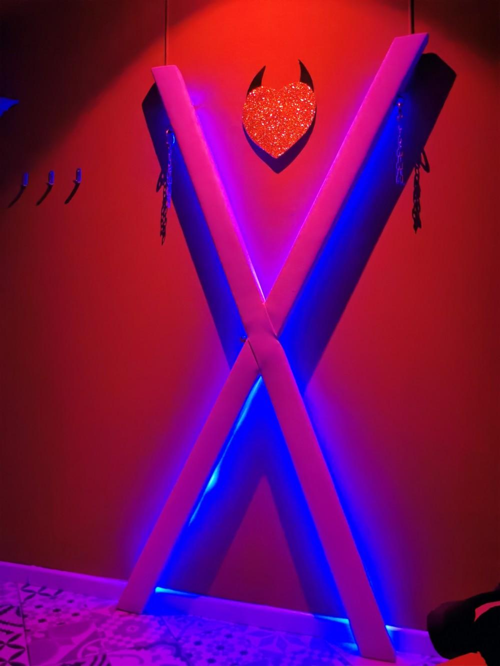 Instalaciones Tentación Swinger Torremolinos, Club liberal Swinger